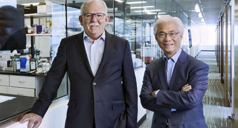 Resverlogix - President and CEO, Donald McCaffrey (left)
