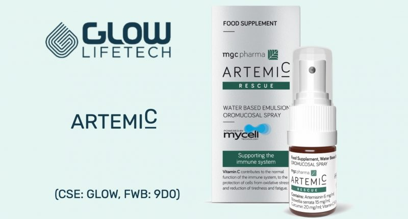 Glow LifeTech (CSE:GLOW) files natural health product ArtemiC™ with Health Canada