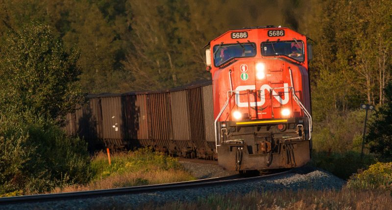 CN (TSX:CNR) requests schedule for voting trust review