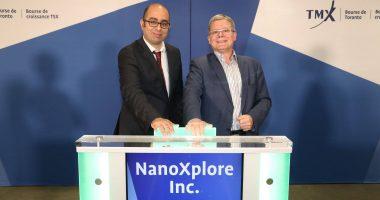 NanoXplore - President and CEO, Soroush Nazarpour (left) - The Market Herald Canada