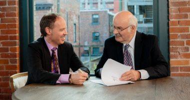True Leaf Brands - CEO, Darcy Bomford (left)
