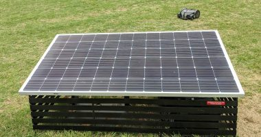 Solar Alliance (TSXV:SOLR) files patent for robotic lawnmower charging station