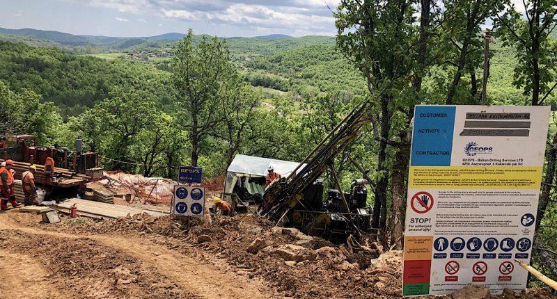 Velocity Minerals - Drilling at Rozino