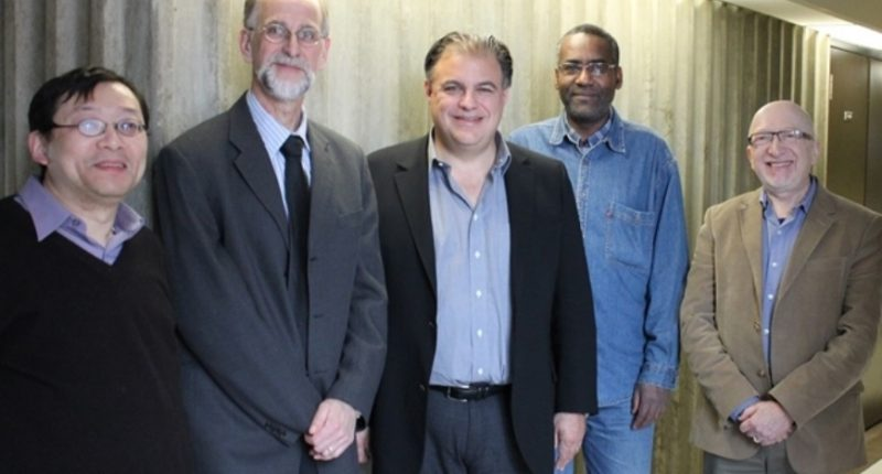 Dundee Corporation - President and CEO, Jonathan Goodman (centre).