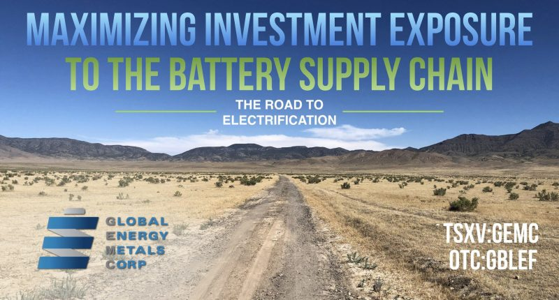 Global Energy Metals (TSXV:GEMC) approved to trade on OTCQB