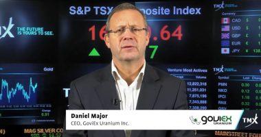 GoviEx Uranium - CEO, Daniel Major. - The Market Herald Canada