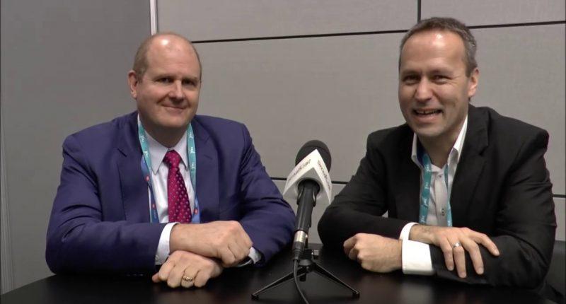 Palladium One - President and CEO Derrick Weyrauch (left)