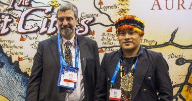 Aurania Resources - CEO, Keith Barron (left).